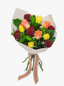 Bouquets: Perfect Mixed Rose Bouquet