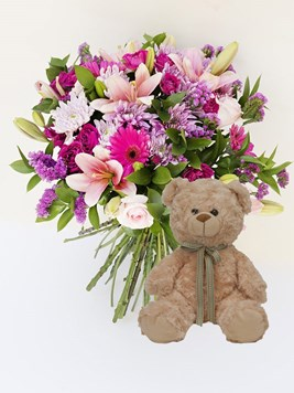 Bouquets: Marvellous Magnificent with Teddy