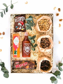Snack & Gift Hampers: Sweet and Saucy