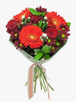 Bouquets: Ruby Red Love