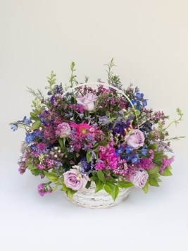 Arrangements: Shades Of Purple and Blue