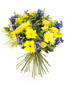 Bouquets: Yellow Horizon Bouquet