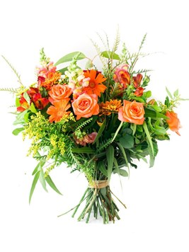 Bouquets: Peachy Pride Bouquet